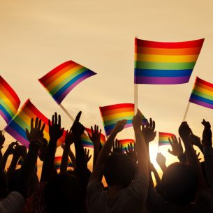 LGBTI Equality Rainbow Flags 1000pxl