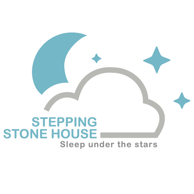 logo-stepping-stone-house-sleep-out-logo-tealsilver-653×653