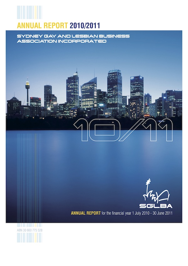 FP 2010-2011 SGLBA Annual Report
