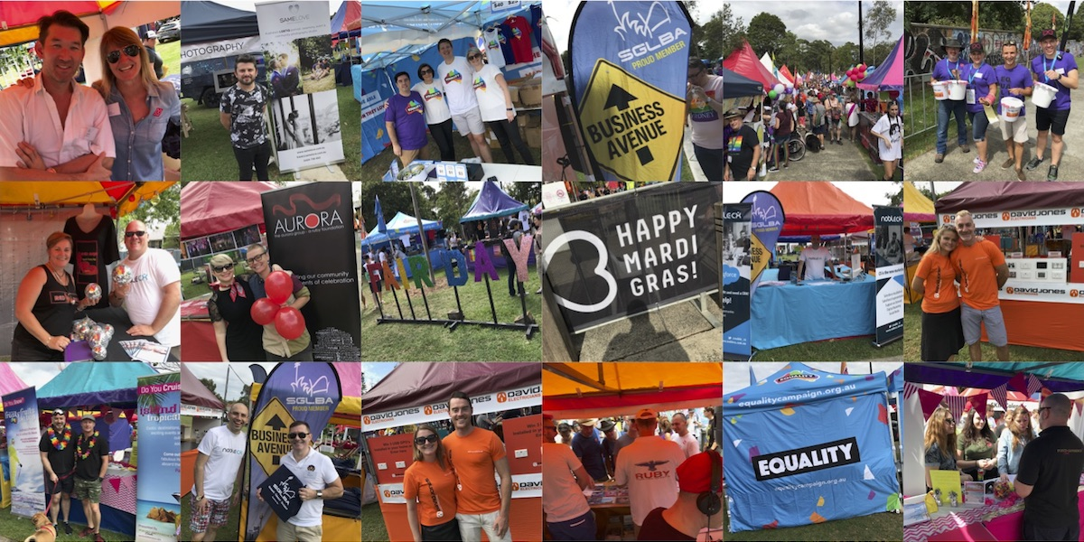 SGLBA Mardi Gras Fair Day 2017 Collage