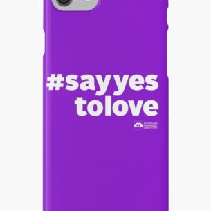 AME Say Yes To Love iPhone 7 Case
