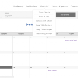 SGLBA Events Page Website Launch