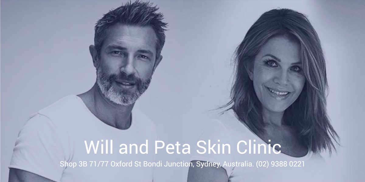 BANNER Will and Peta Skin Clinic 1200×600