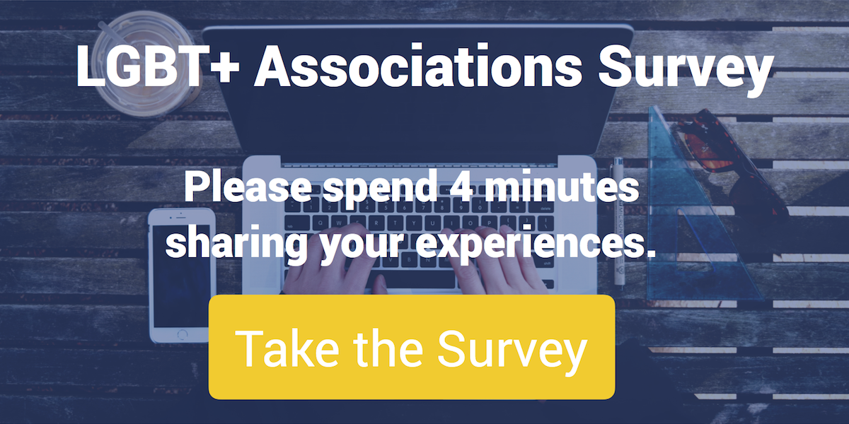 LGBT+ Associations Survey AD 1200×600