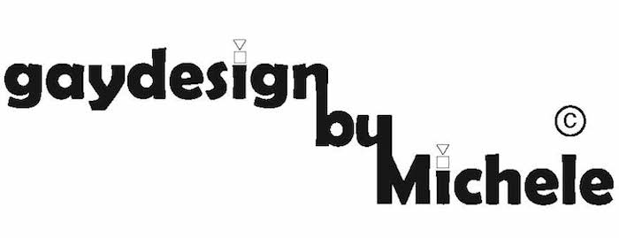 LOGO Gaydesign by Michele 700×269