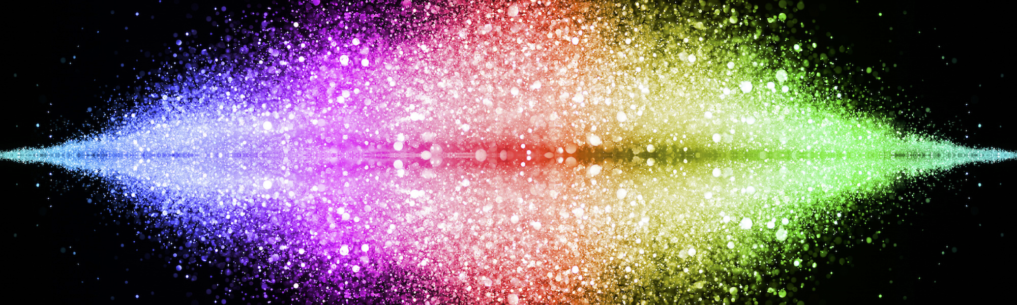 Rainbow Reflections Banner 2000x600pxl