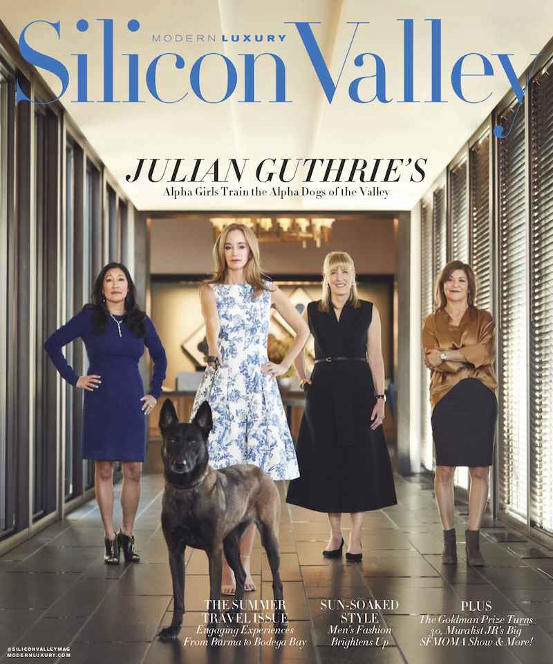 FRONT PAGE Silicon Valley Mag Julian Guthrie