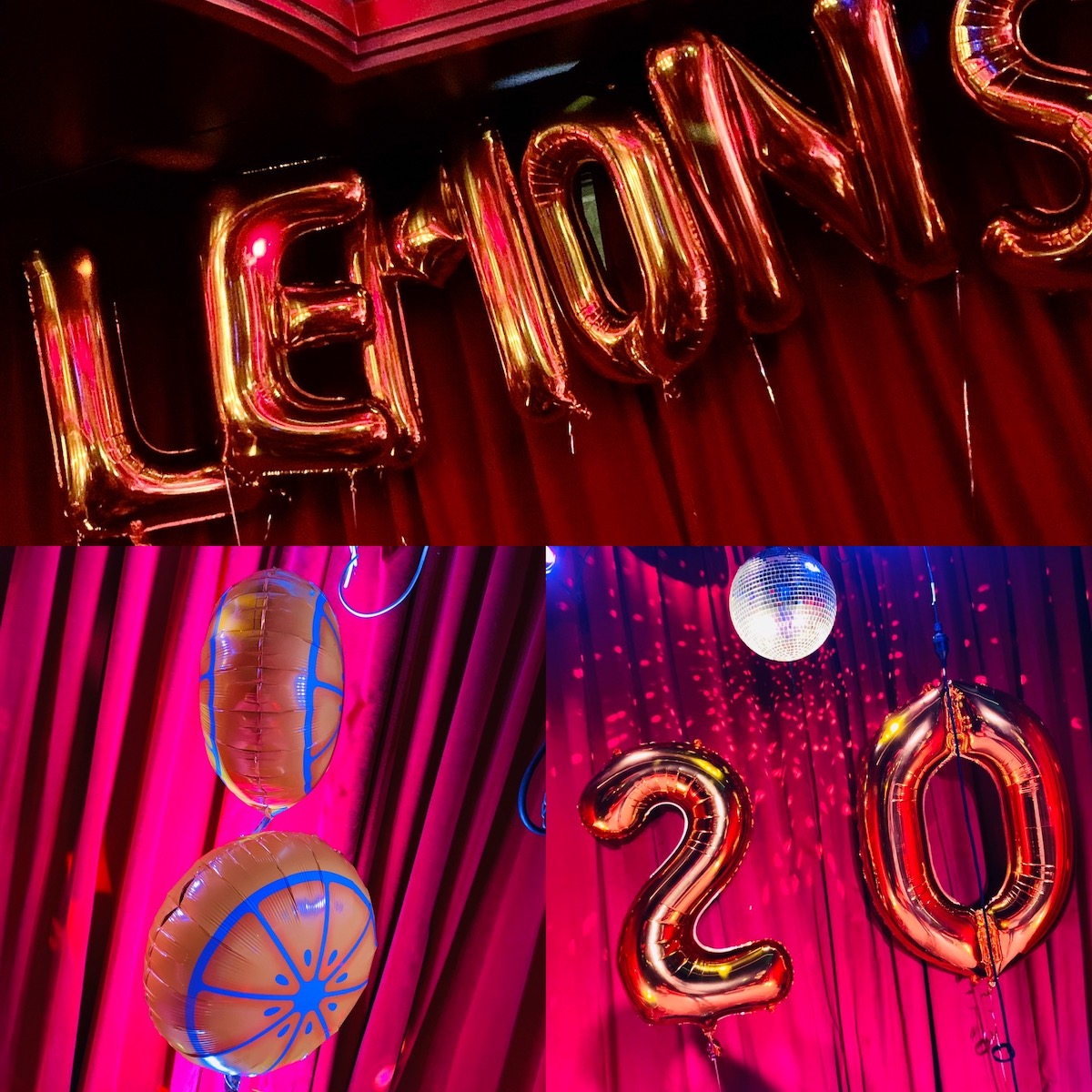 Lemons with a Twist 20th Birthday