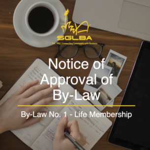 Notice of Approval of By-Law
