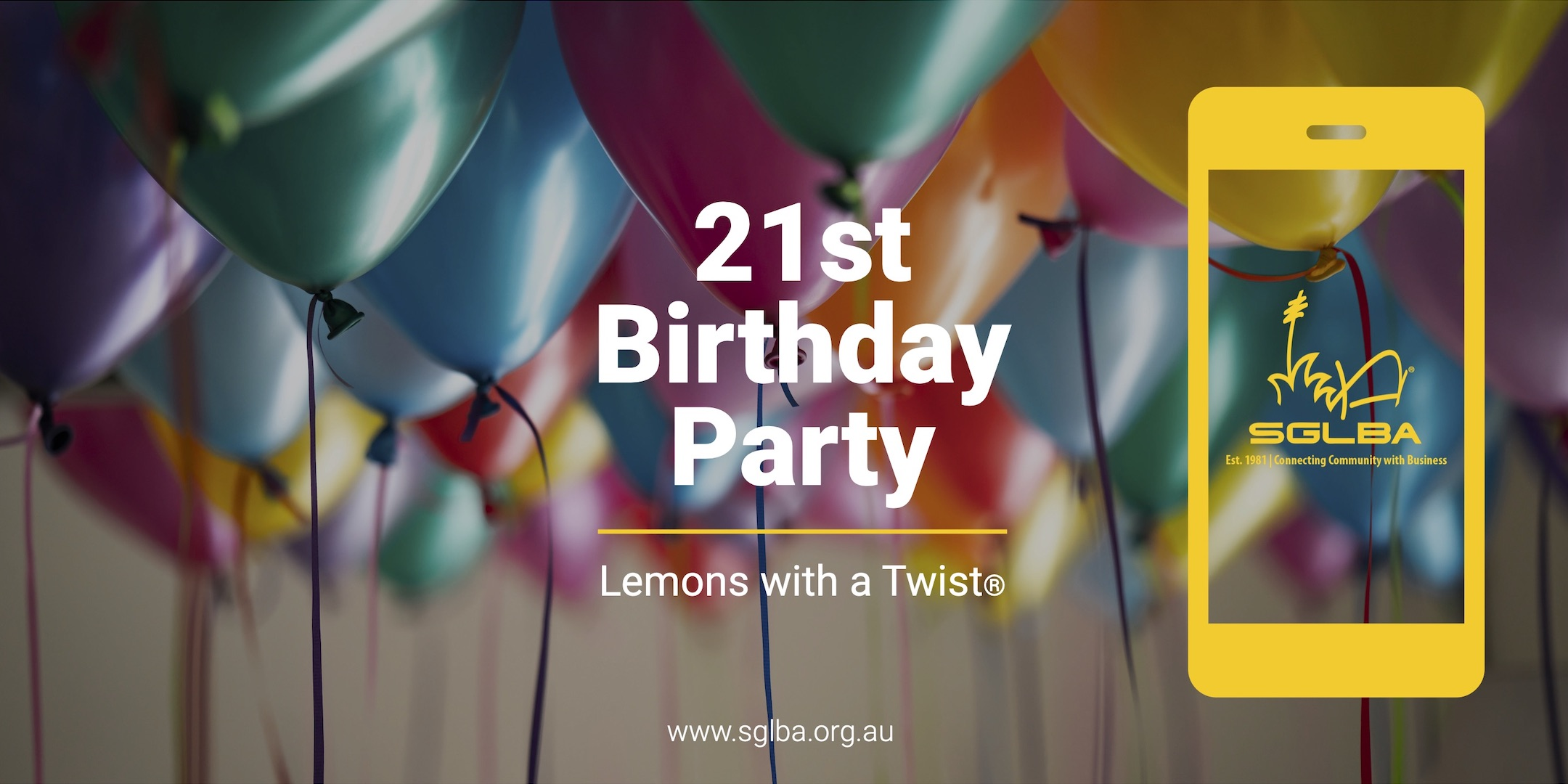 Lemons with a Twist 21st Birthday